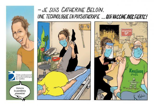 Bande dessinée | Catherine Beloin, T. phys.