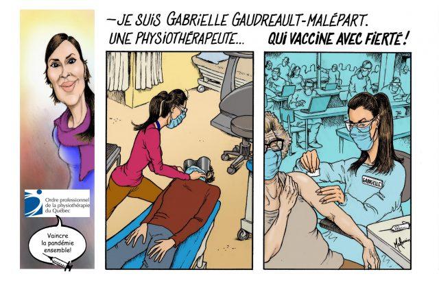 Bande dessinée | Gabrielle Gaudreault-Malépart, pht