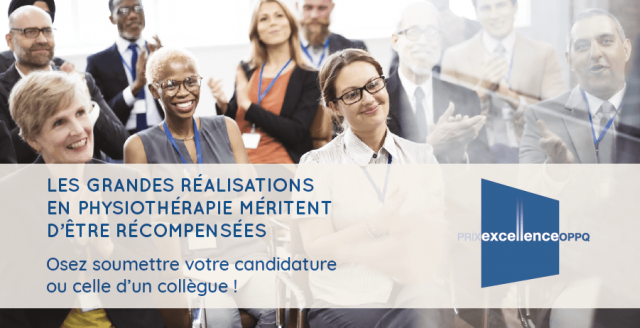 Appel de candidatures - Prix Excellence 2019