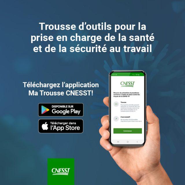 Application Ma Trousse CNESST