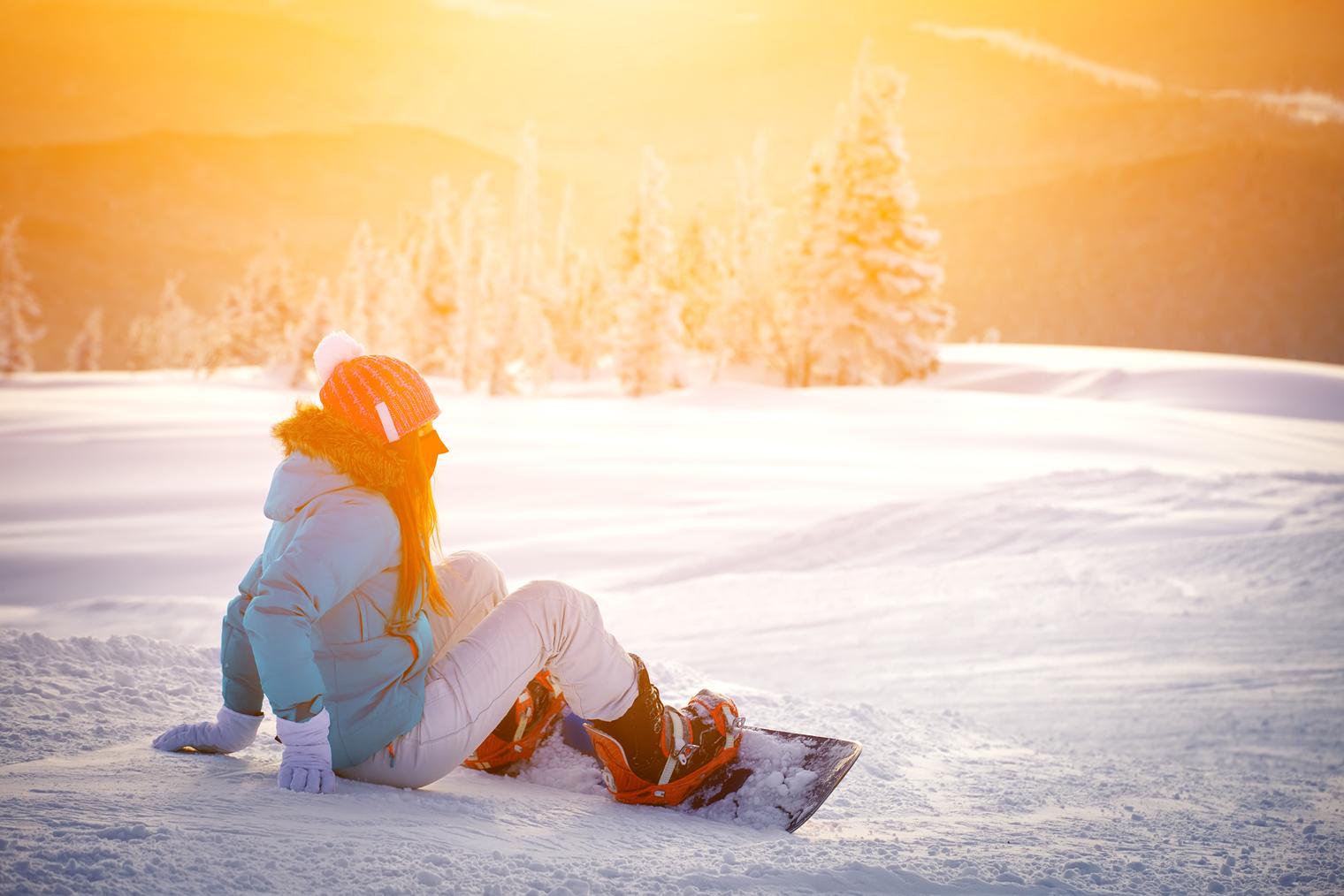 Avantages et risques de la planche à neige