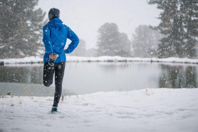 Courir l'hiver: bien se préparer et adapter sa course aux conditions hivernales
