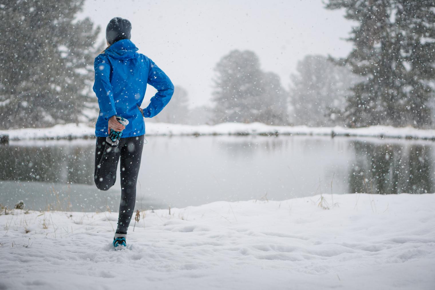 Courir l'hiver : bien se préparer