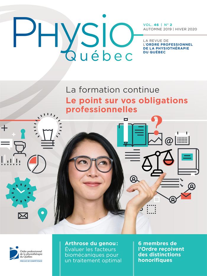 Physio-Québec Automne 2019   Hiver 2020