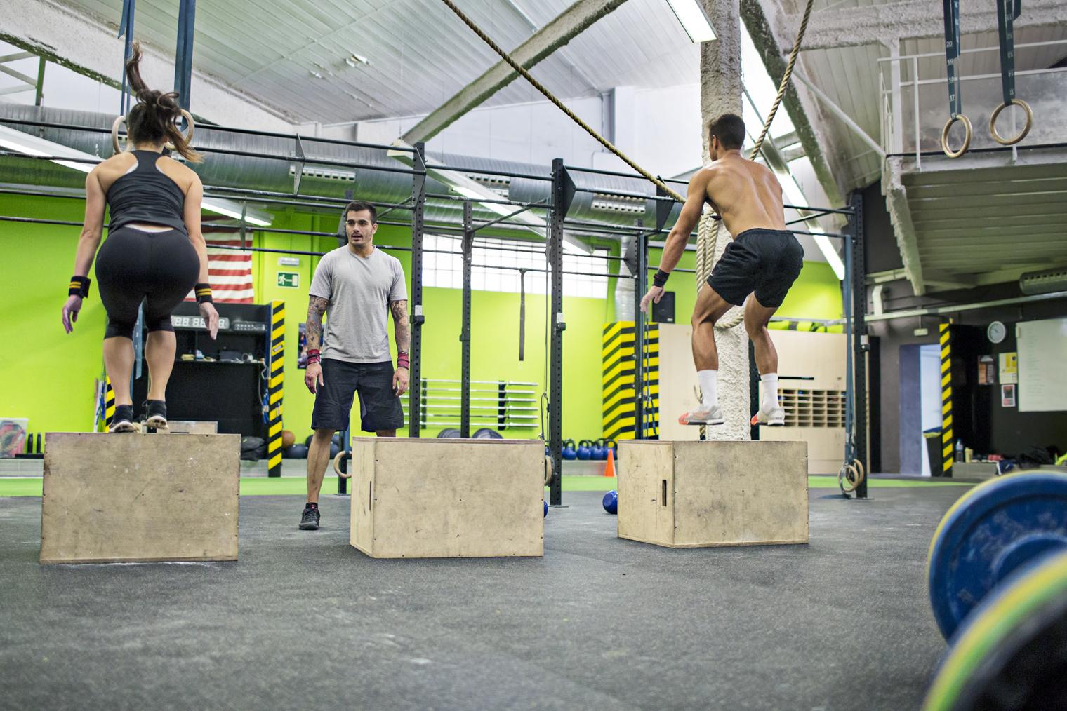 CrossFit et physiothérapie : entraineur