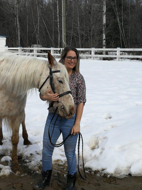 Équitation et physiothérapie : Émilie Chabot