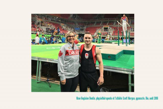Jeux olympiques d'été et physiothérapie - Gylaine Boulin