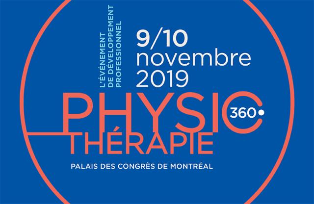 Physiothérapie 360° – Édition 2019