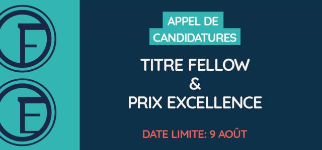 Présentez vos candidatures aux titre Fellow et prix Excellence | OPPQ