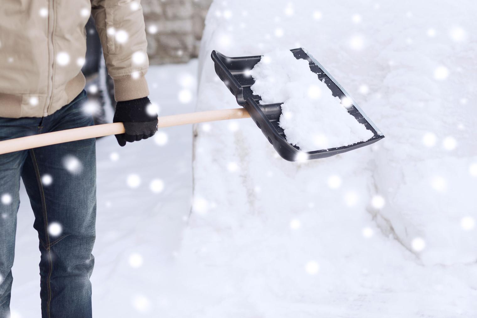 Pelleter l'hiver