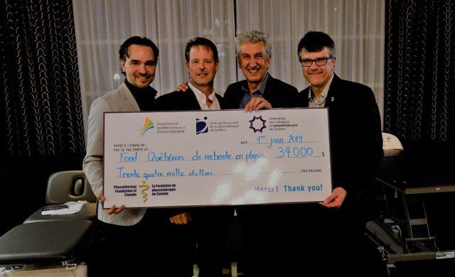 L'événement Physio Golf-Vélo-Yoga a recueilli 34 000$.