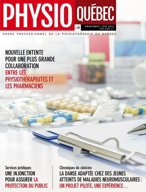Physio-Québec Printemps / été 2015