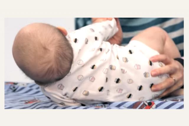 Plagiocéphalie : bébé