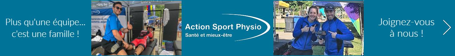 Publicité Action Sport Physio : 9 juillet 2018