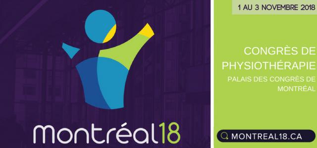 Publicité : congrès Montréal 2018