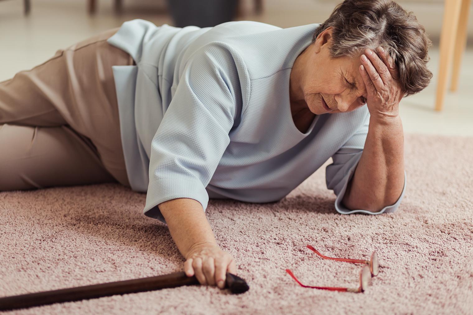 Risque de chute chez les personnes âgées
