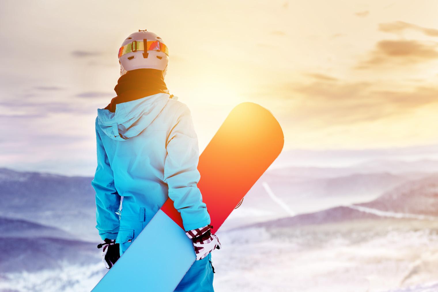 Snowboard : programme pour vous échauffer