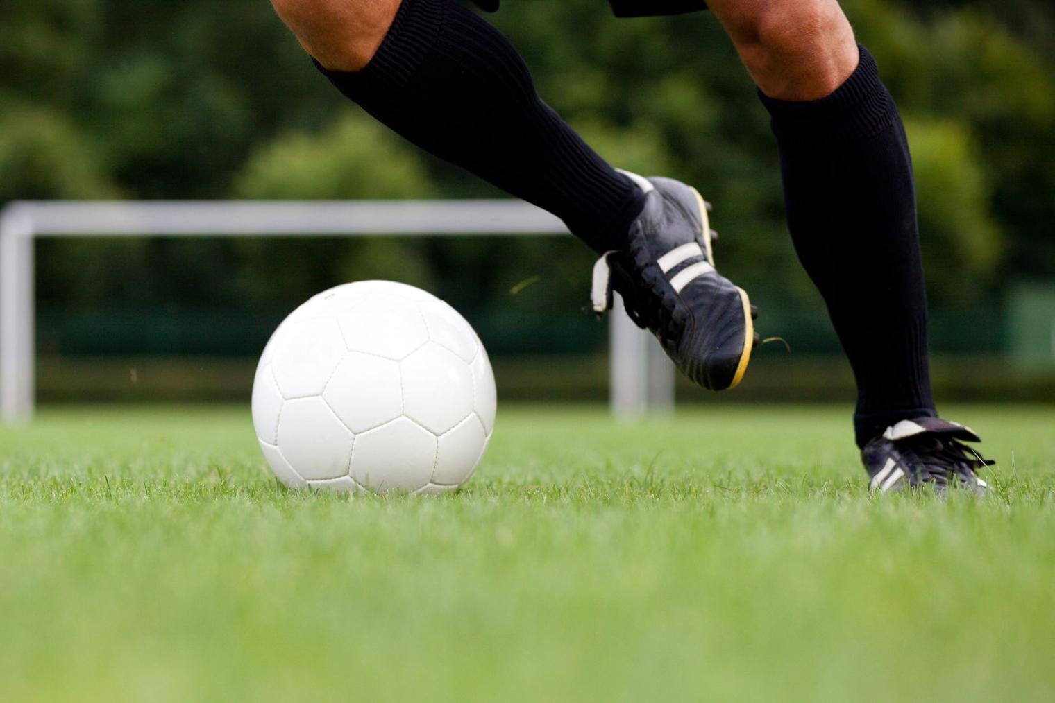 Soccer : un échauffement