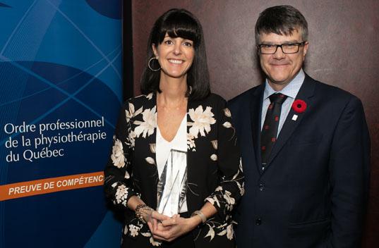 Véronique Tremblay reçoit le prix Excellence 2019 -T.R.P.