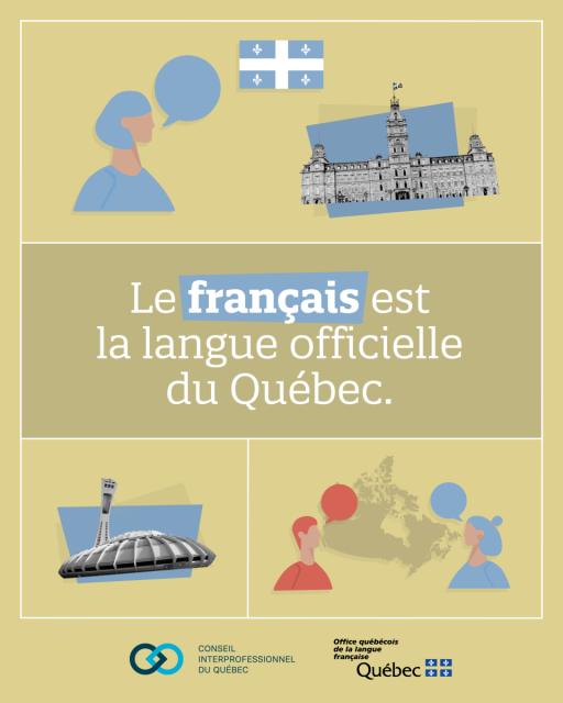 CIQ | Campagne de valorisation du français | Affiche 1